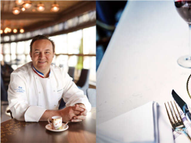 Princess Cruises Introduces La Mer Restaurant by Three Michelin Star Chef Emmanuel Renaut