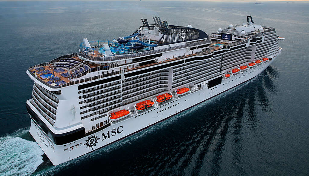 MSC Meraviglia Gets Ready to Deliver Some Magic