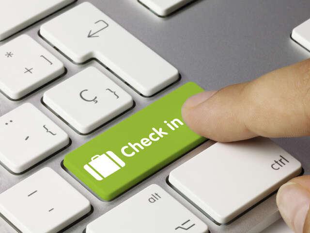 Air Canada enhanced check-in process