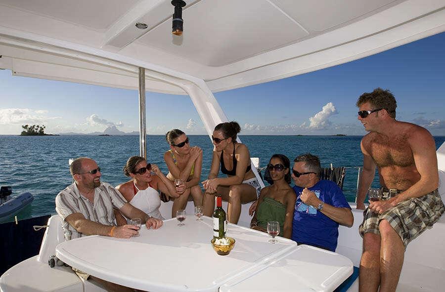 Tahiti 7-day suggested yacht itinerary