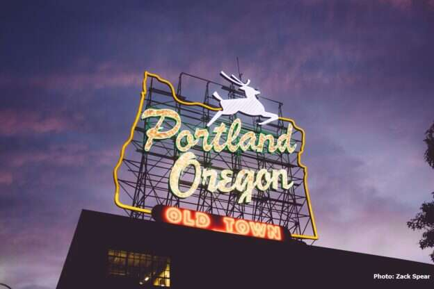 Travel yourself hip in Portland, Oregon