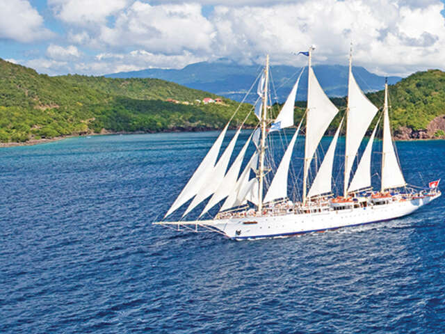 Enjoy a Two-Night Complimentary Hotel Stay at Star Clippers