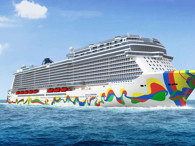Norwegian Cruise Line takes Delivery of Norwegian Encore