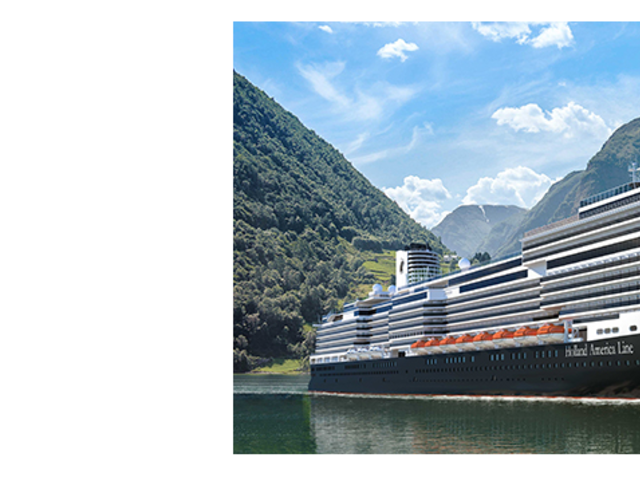 Holland America Line's Newest Ship Ryndam Open for Sale Now