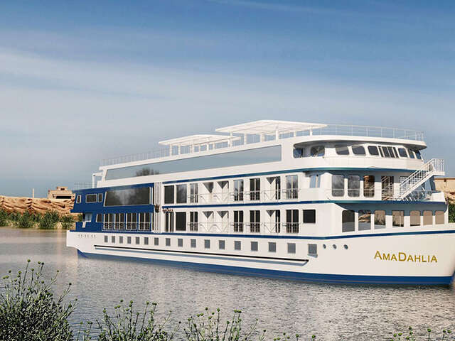 AmaWaterways Announces New River Cruise Ship on the Nile