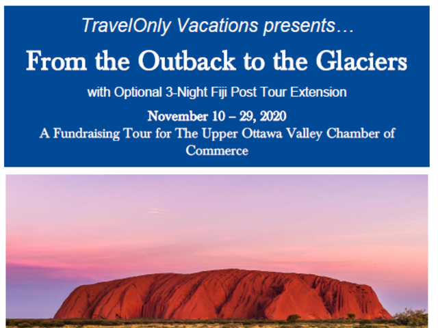 From the Outback to the Glaciers