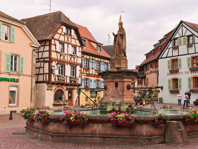 Visit the Village of Eguisheim, Alsace France