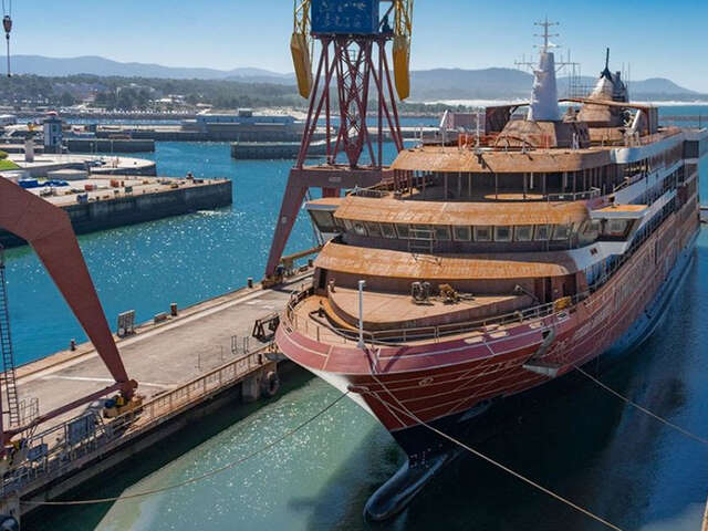 World Navigator, Atlas Ocean Voyages' First Expedition Ship, Floats Out; Sister-Ship World Traveller Lays Keel