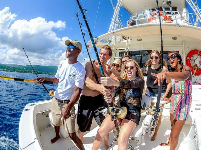 Deep Sea Fishing - Grenada