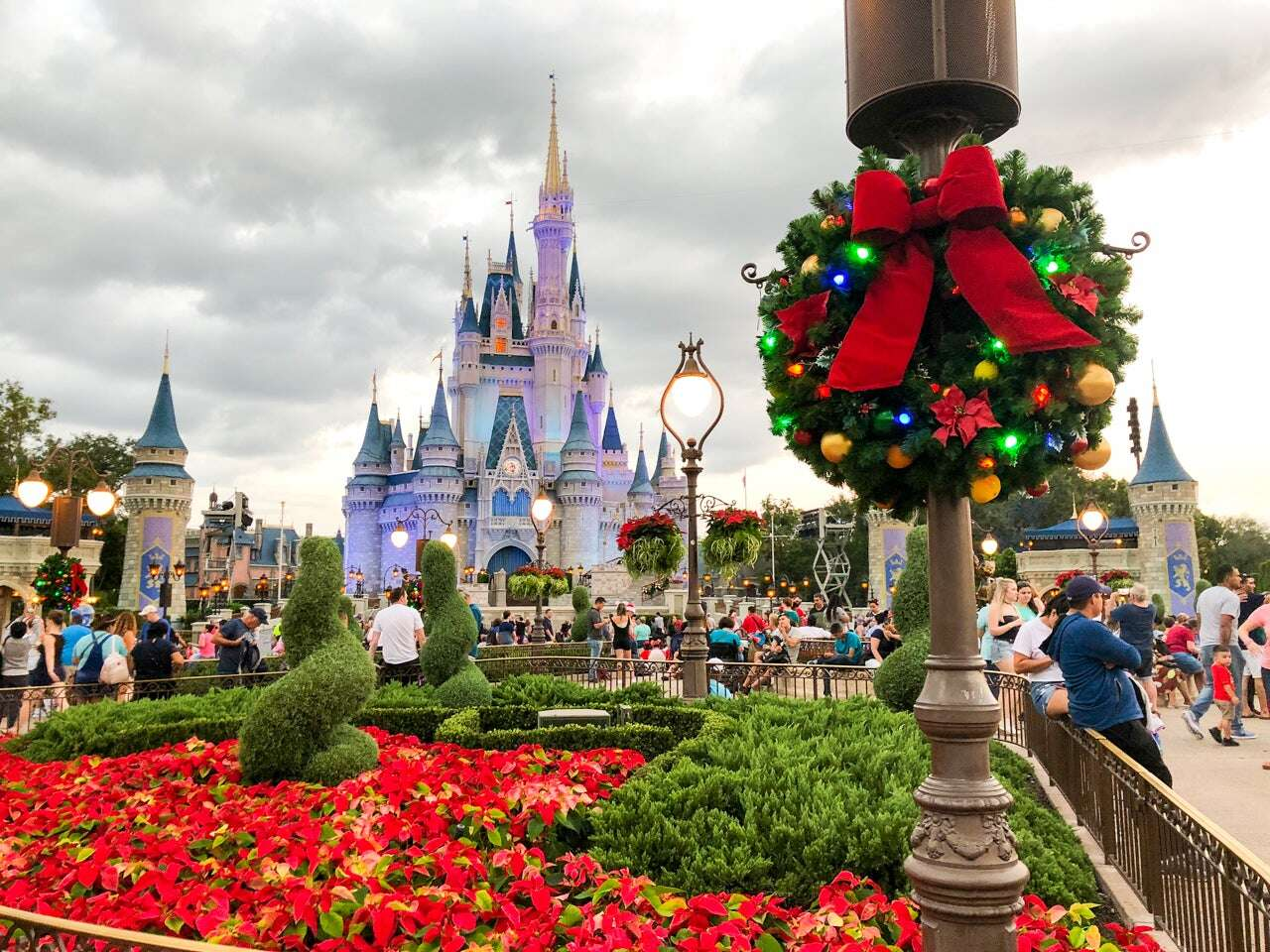 Disney World confirms increased capacity, parks are 77% booked for holiday season