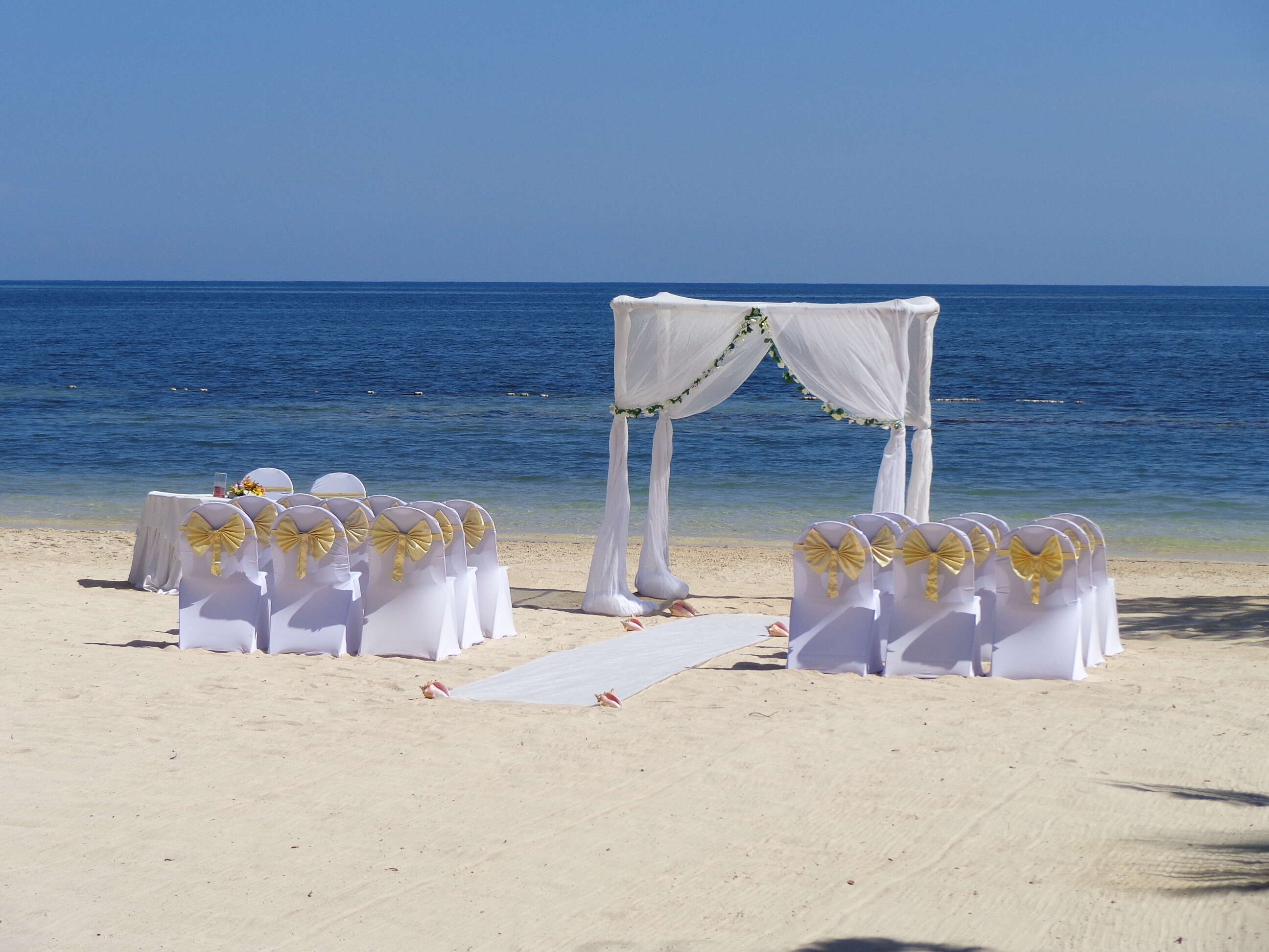 The Venue: Beach or Gazebo?