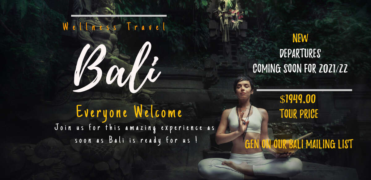 Join our BALI Wellness Group