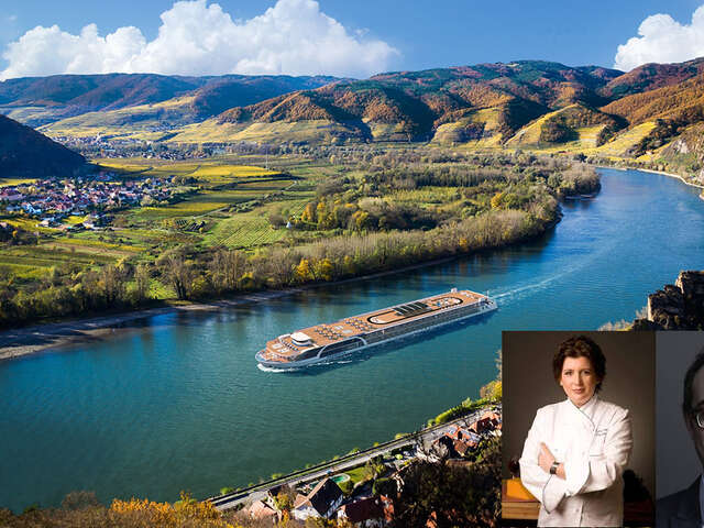 Celebrity Chef Lynn Crawford and Design Expert Tommy Smythe Join Scenic on Idyllic Rhône Sailing in 2022