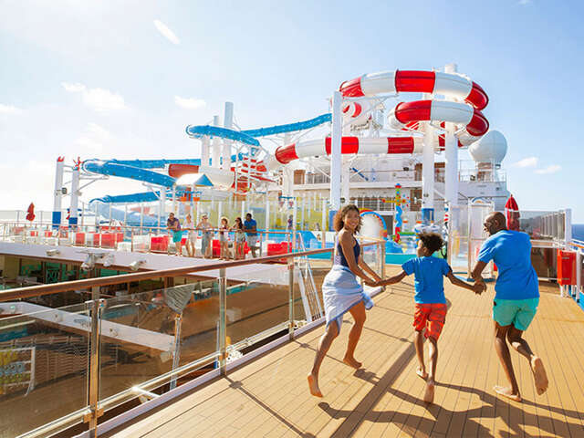 The best vacation, it's a Carnival cruise!