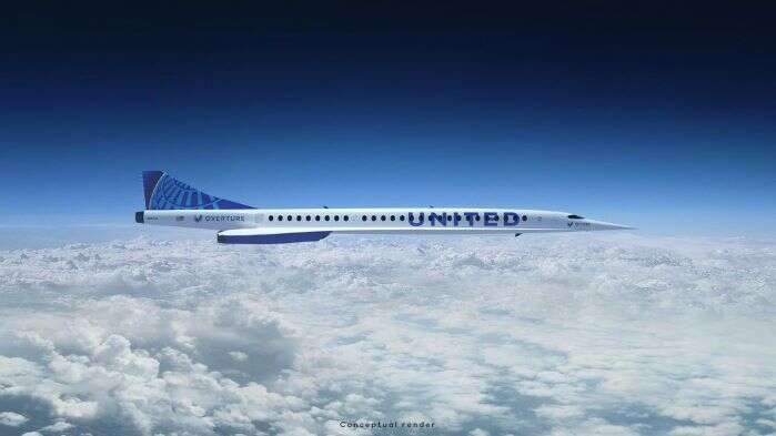 United Adding Supersonic Speeds with New Aircraft from Boom Supersonic