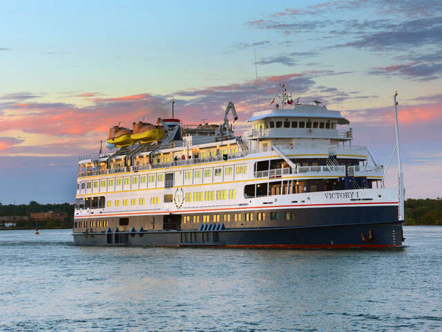 Close to Home Explorations with Victory Cruise Lines