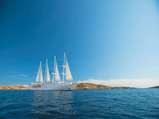 Windstar Cruises Resumes Operations – First Cruise Underway in Romantic Greek Isles