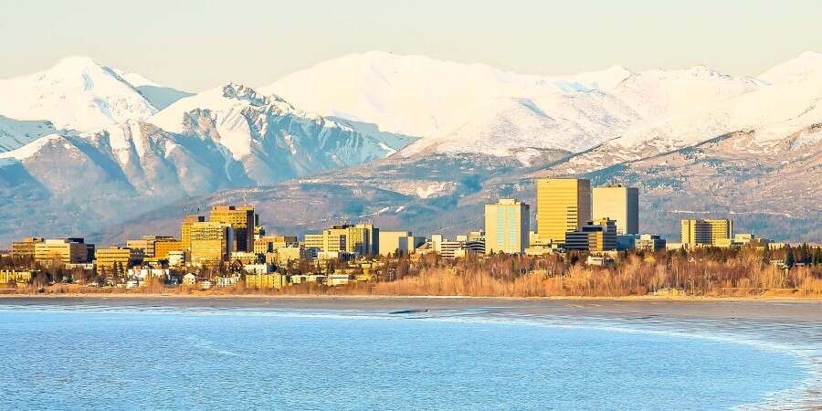 Alaska's Largest City - Anchorage