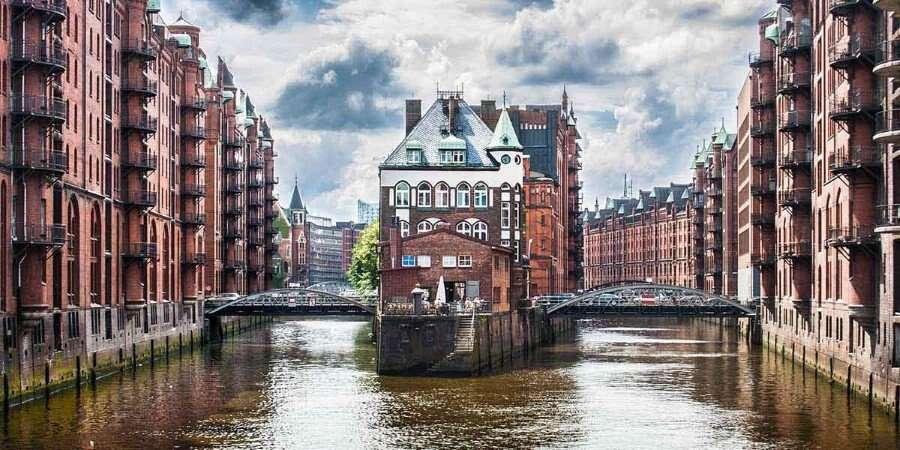 Canals and Gardens  - Hamburg, Germany  - Embarkation - Overnight