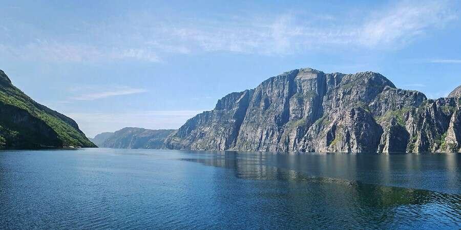 Towering Preikestolen - Lysefjorden, Norway
