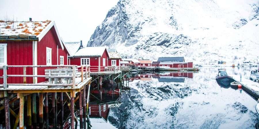 Idyllic Reine - Reine, Norway