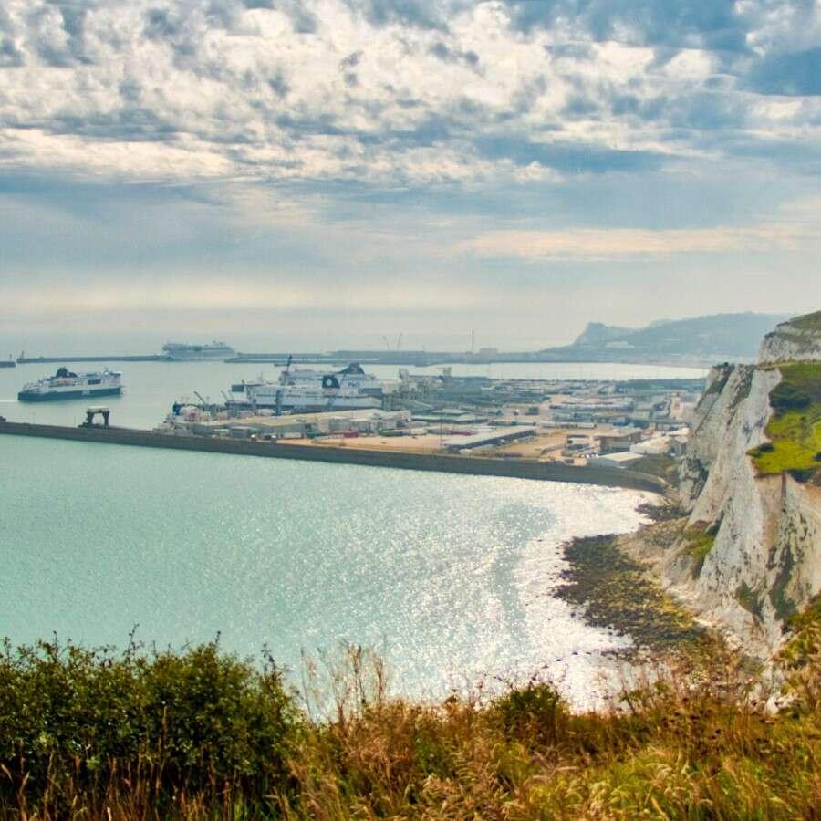 Setting sail - Dover, U.K.