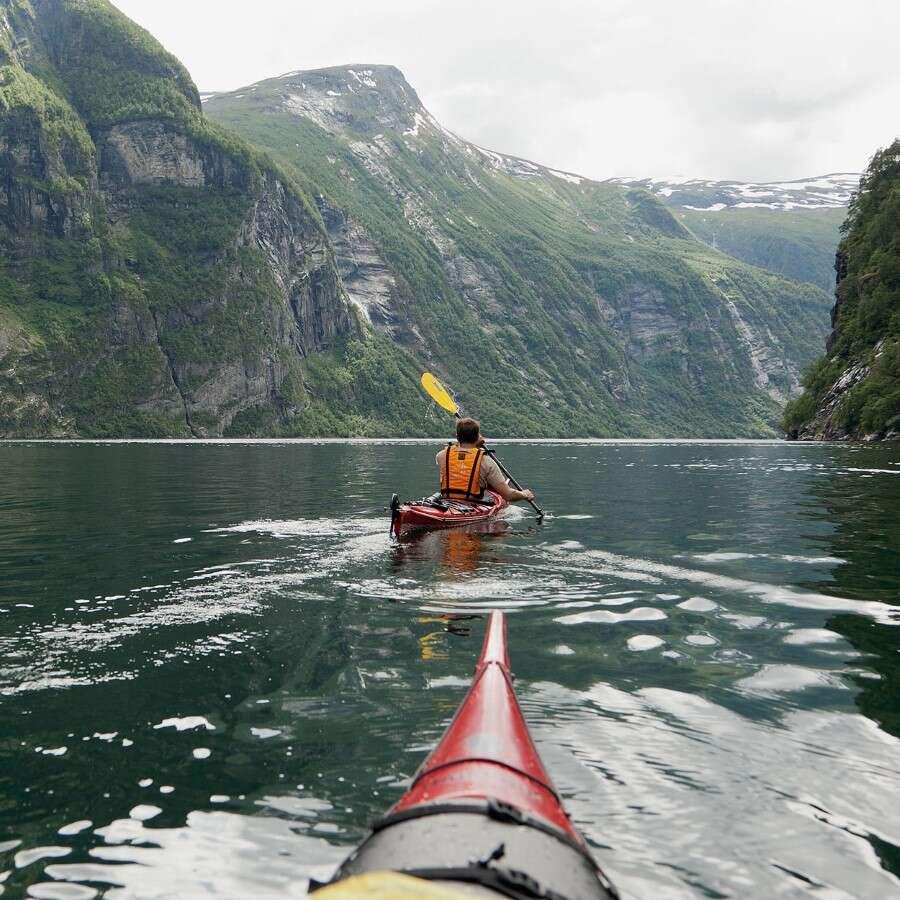 Seven wonderful waterfalls - Geirangerfjord, Norway