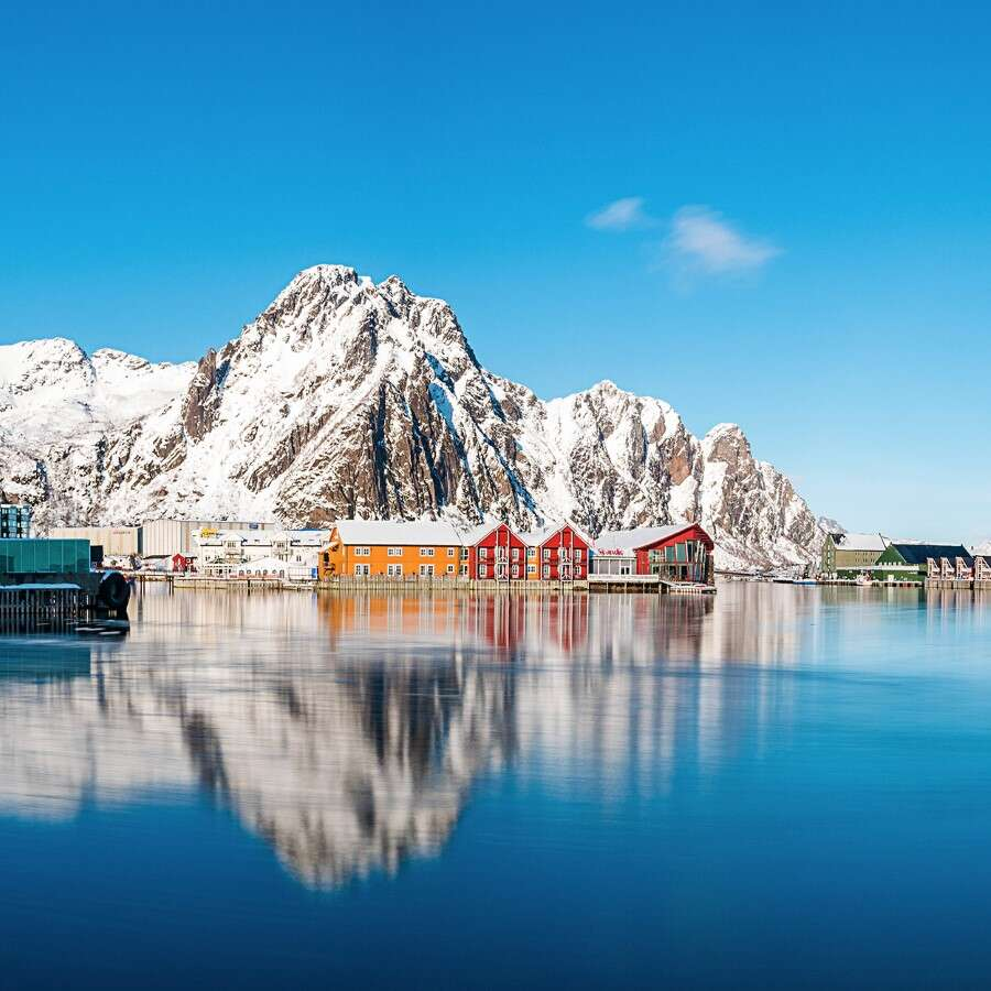 The enchanting Lofoten Islands - Svolvær, Norway