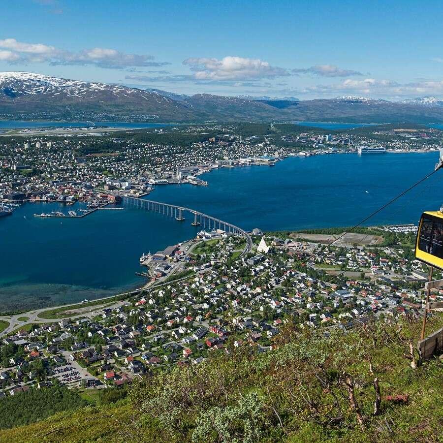 A hub for Arctic summer adventure - Tromsø, Norway