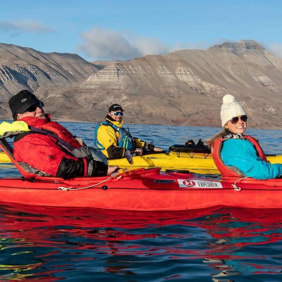 Second-longest fjord in Svalbard - The Isfjord area, Svalbard