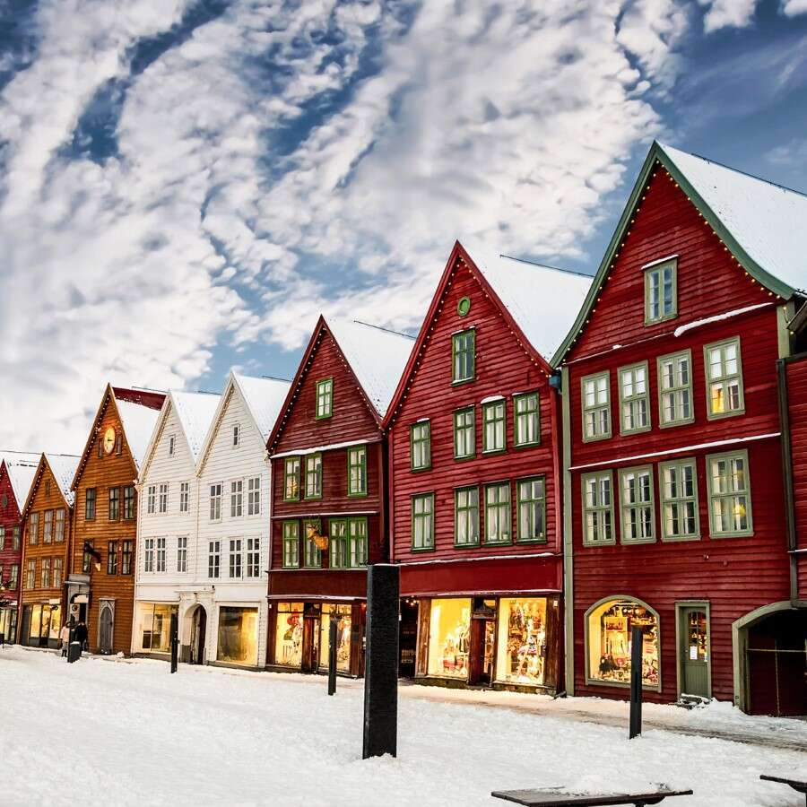 The City of Seven Mountains  - Bergen