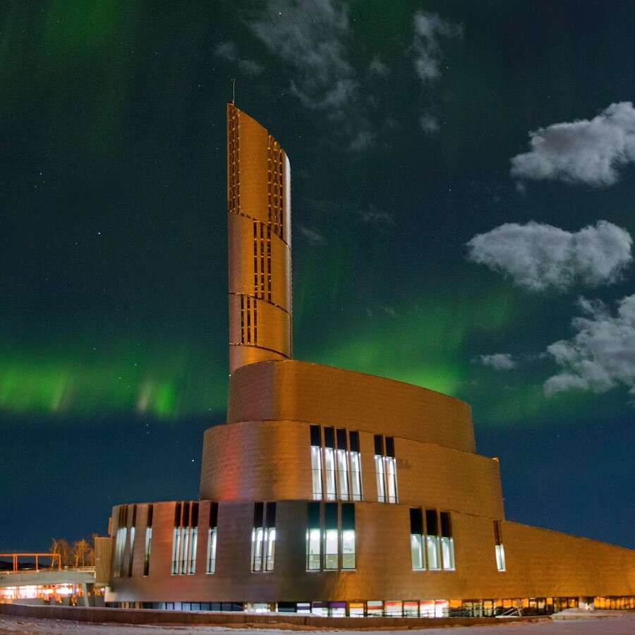 The City of the Northern Lights  - Alta