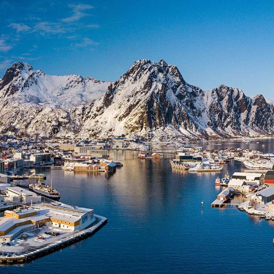 Experience a blue Christmas in the fjords  - Svolvær, Lofoten