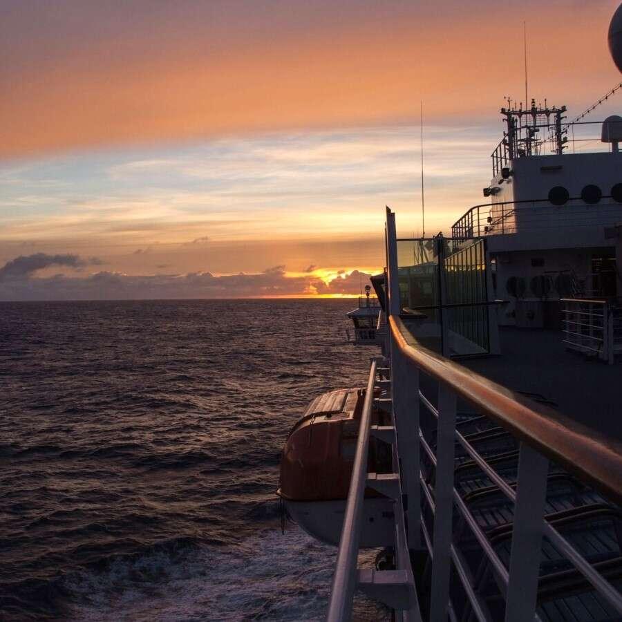 The Denmark Strait - At Sea