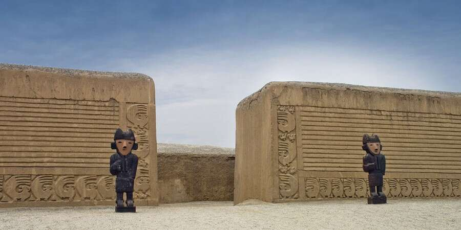Temple of the Sun and Moon & Chan Chan  - Salaverry, Peru