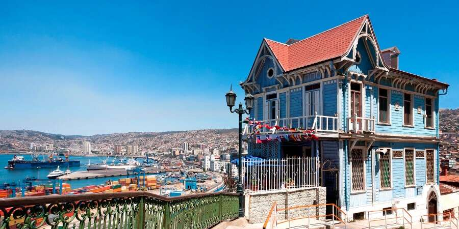 The `Jewel of the Pacific´ - Valparaíso, Chile - Disembarkation
