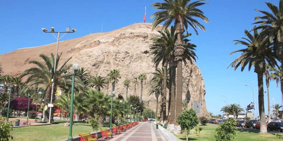 Where the Rain Never Falls - Arica, Chile