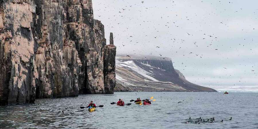 Expedition Days in the Arctic  - Eastern Svalbard Nature Reserve