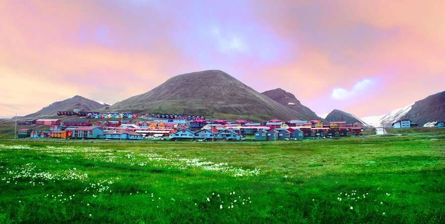 The Norwegian Stronghold in the High Arctic - Longyearbyen, Svalbard