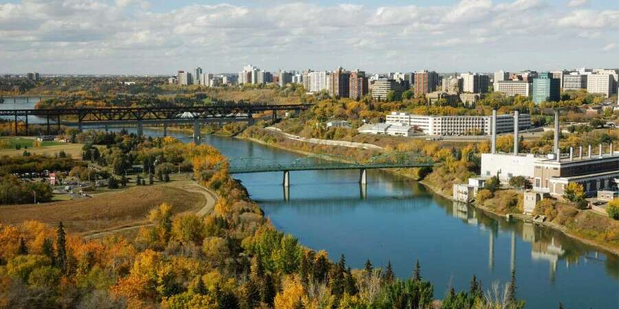 Canada's Gateway to the North - Edmonton, Canada