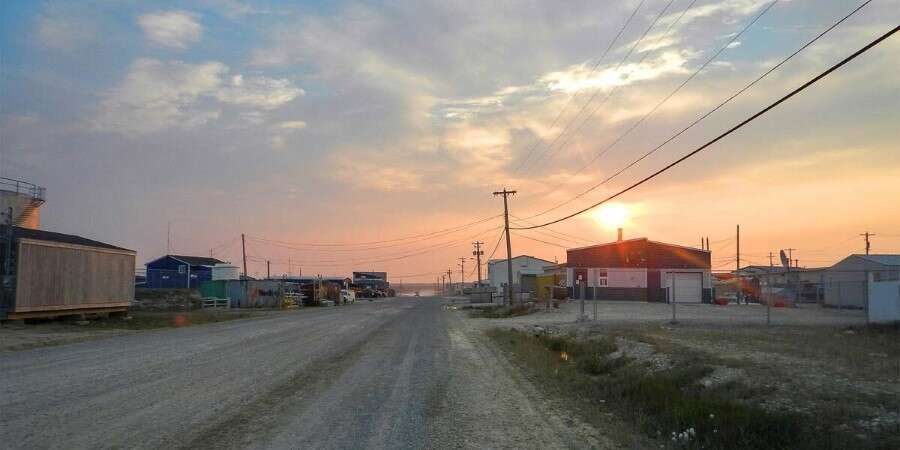 """A Good Fishing Place"" - Cambridge Bay, Victoria Island"