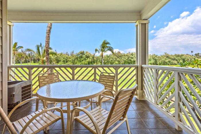 Fairway Villas Waikoloa by Outrigger, Waikoloa, Hawaii BALCONY