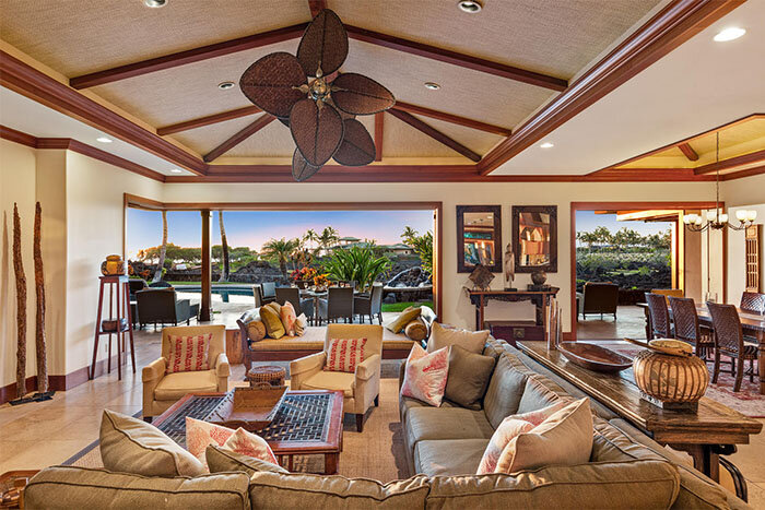 Hale Kolea Kai 5 Star - Kolea 14 living room