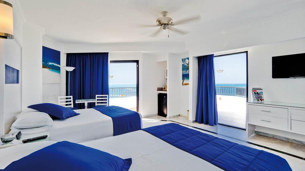 Riu Caribe Cancun, Mexico bedroom