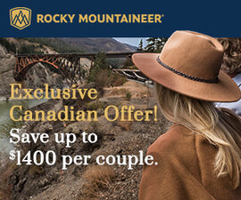 Rocky Mountaineer Digital Campaign