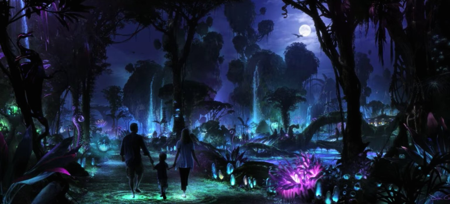 Simply experiencing Pandora at night is the one thing I'm most excited about.