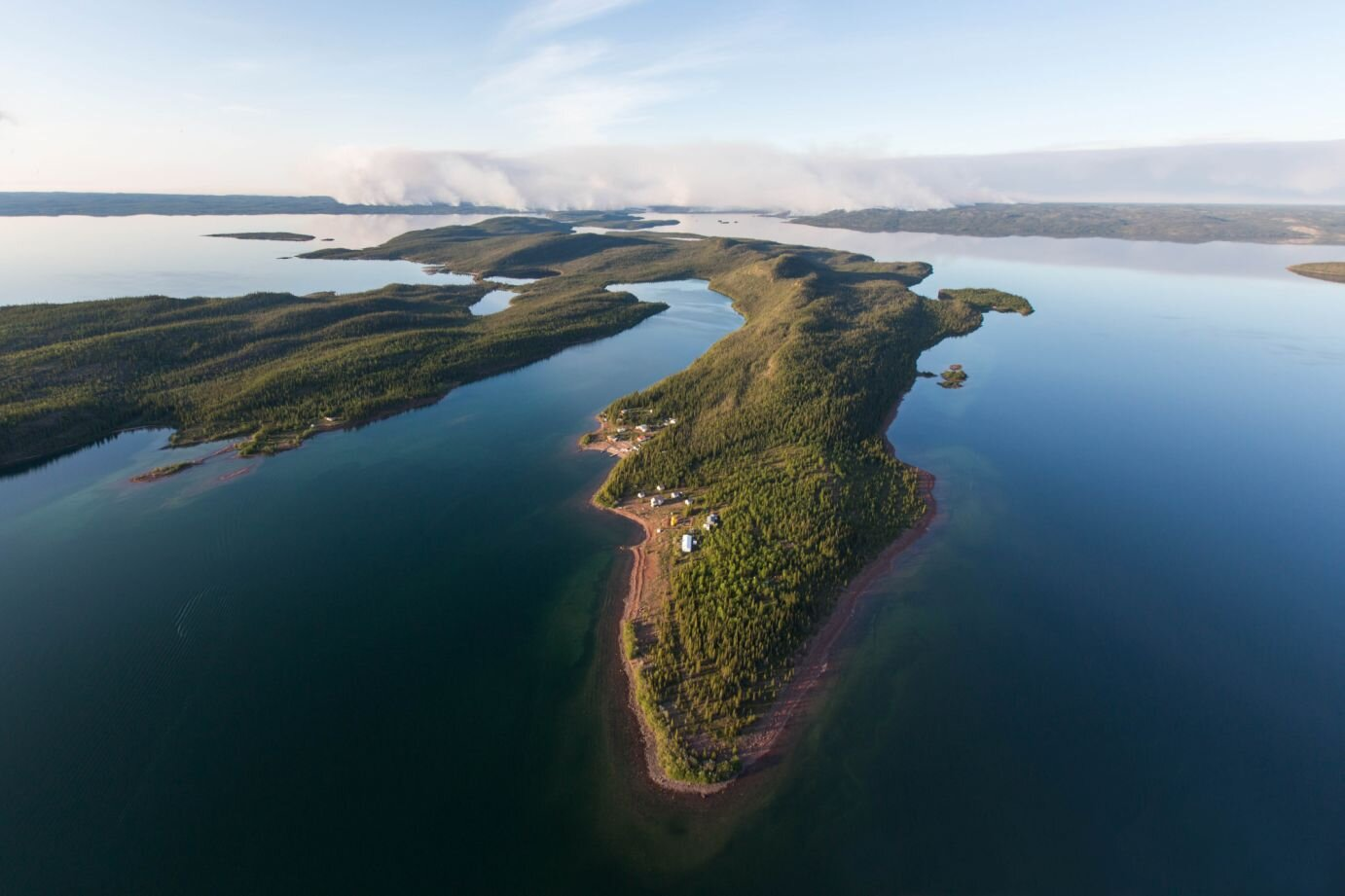 Great Slave Lake is one of the most serene regions of Canada.