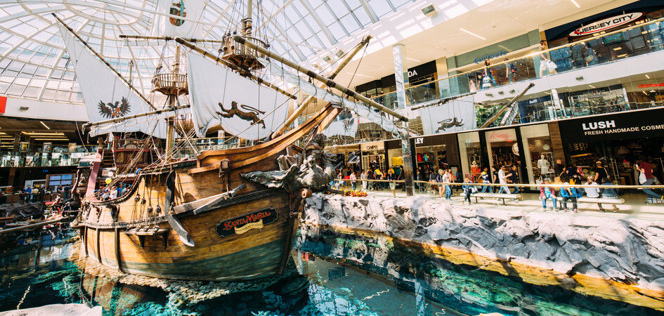 During your overnight stay in Edmonton, you may decide to spend some time at West Edmonton Mall, Canada's most exciting shopping centre.