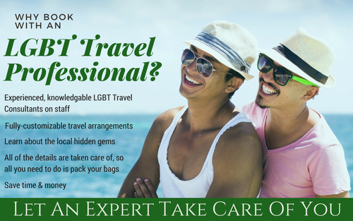 When you book with an LGBT Travel Specialist, you know that your vacation plans are in good hands, and that you won't miss any of those great hidden gems!