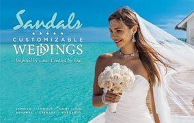 Sandals Customizable Wedding Planning Tool